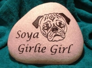 A memory stone for Soya (GirlieGirl)