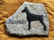 Memory stone for Alexander the Doby