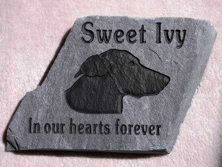 Memory stone for Sweet Ivy