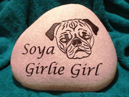 A memory stone for Soya (GirlieGirl)