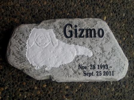 Gizmo memory stone